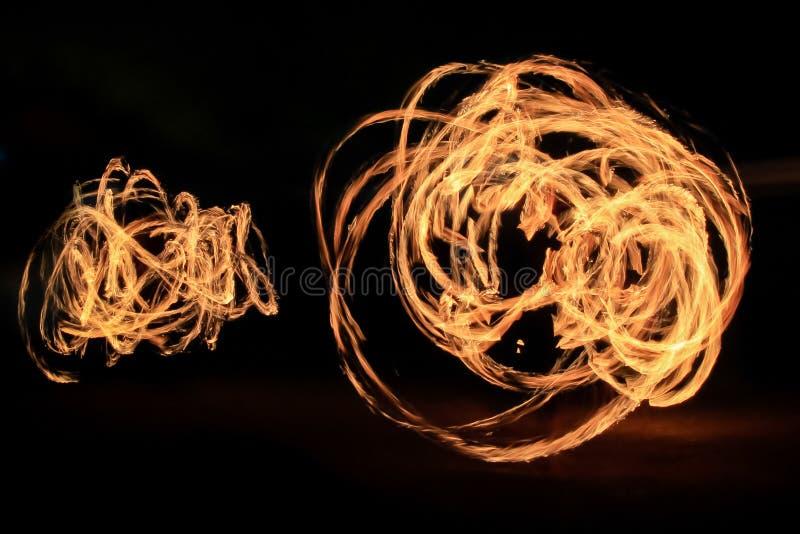 Тропки света танцев стоковое изображение