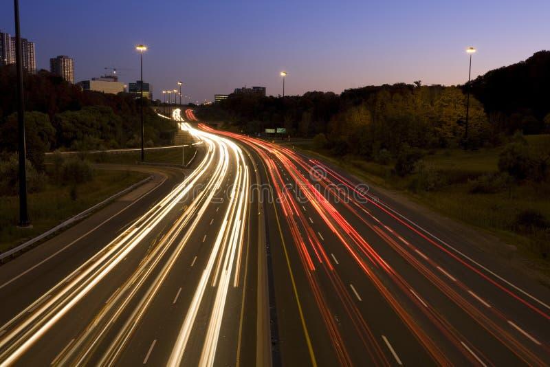 тропки света стоковая фотография