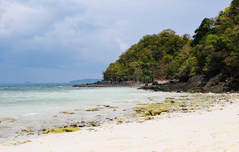 Download Троповый ландшафт острова стоковое фото. изображение насчитывающей ландшафт - 40576186