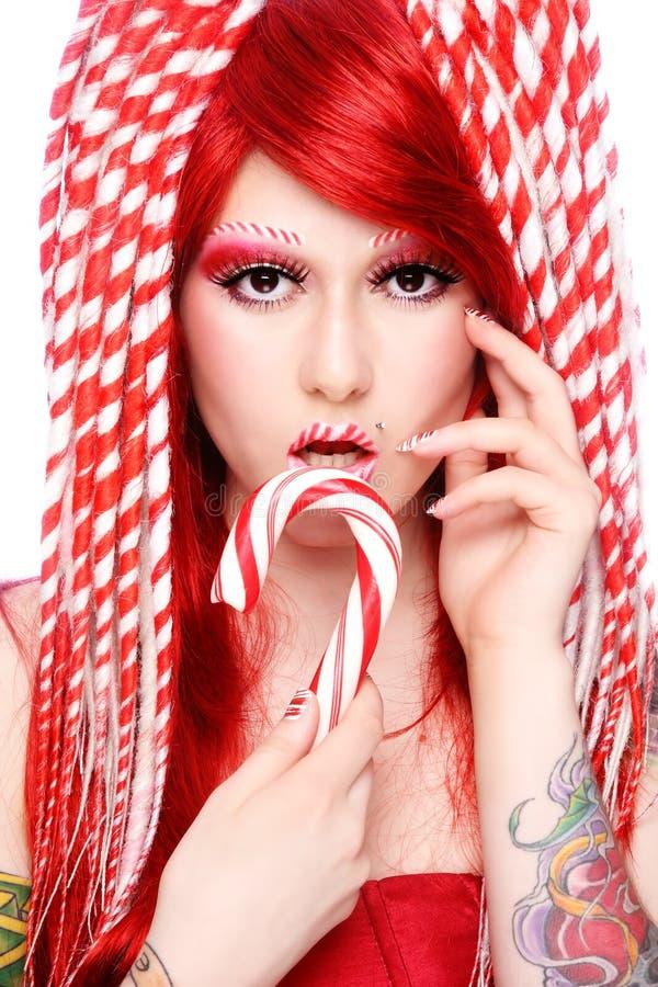 тросточка конфеты стоковые фотографии rf