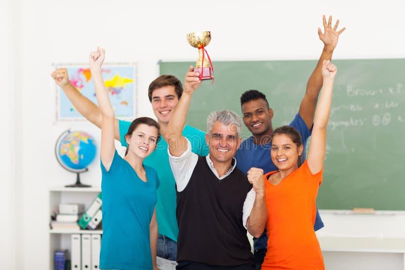 Трофей класса wining стоковая фотография