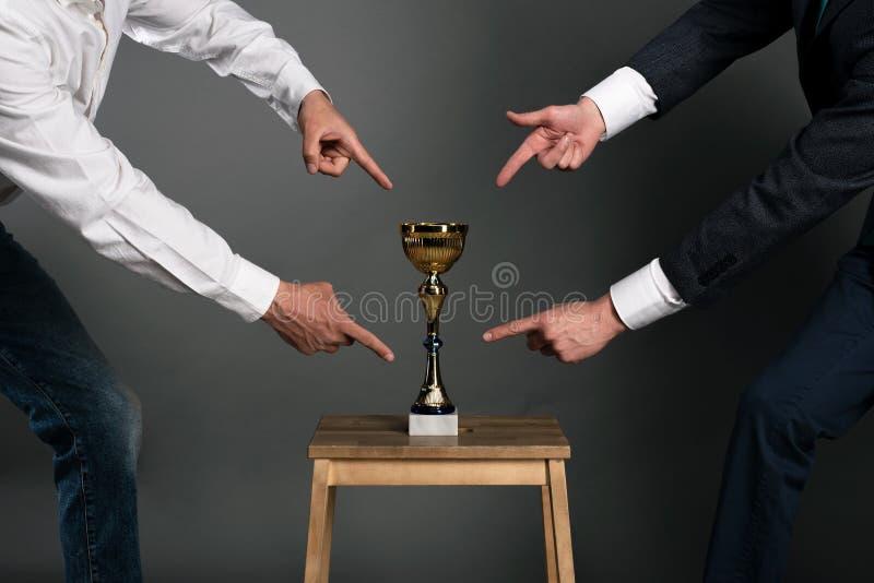 Трофей награды стоковые изображения
