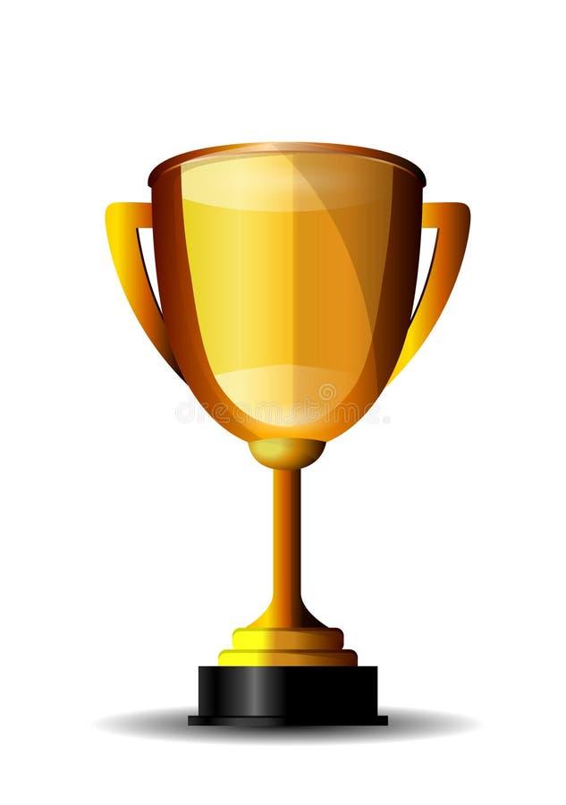 трофей чашки золотистый стоковая фотография