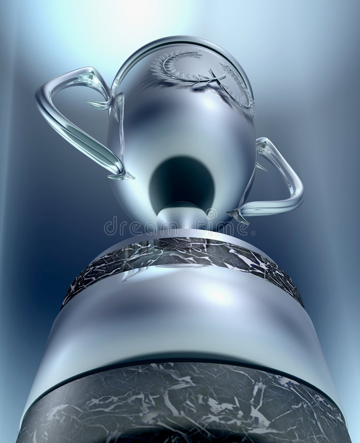 трофей иллюстрация вектора