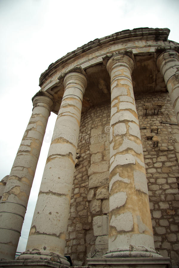 Трофей Augustus в Ла Turbie стоковые изображения