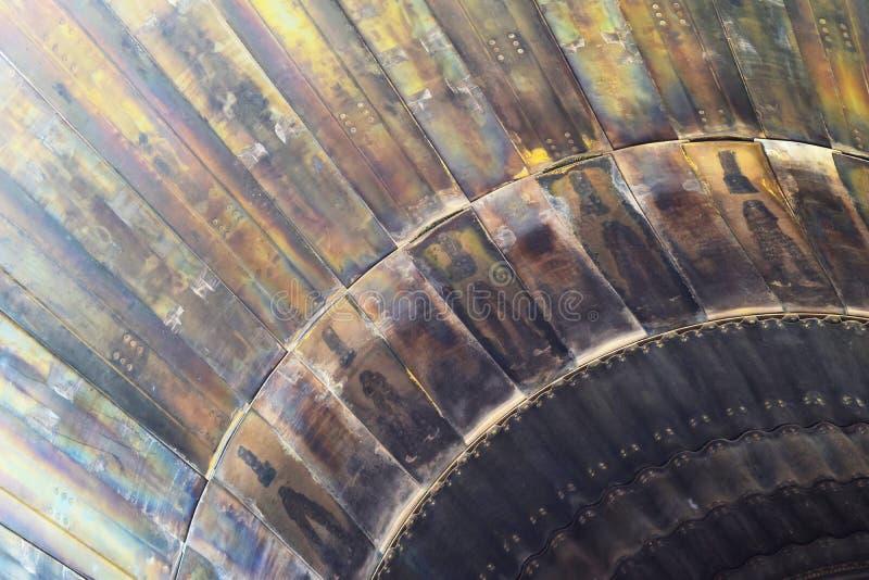 Труба двигателя воздушных судн стоковое фото