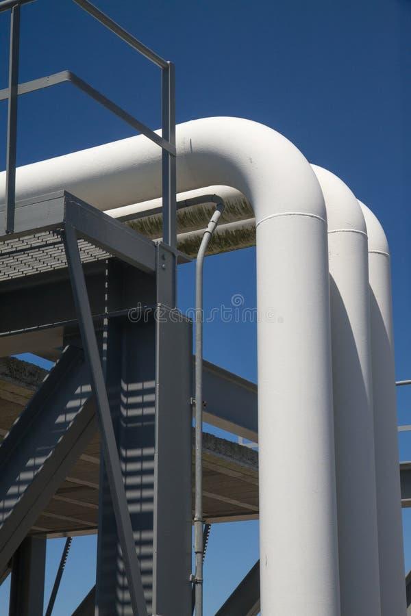 труба масла газа промышленная стоковая фотография rf