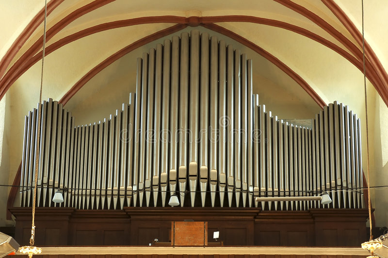 труба органа стоковое фото rf