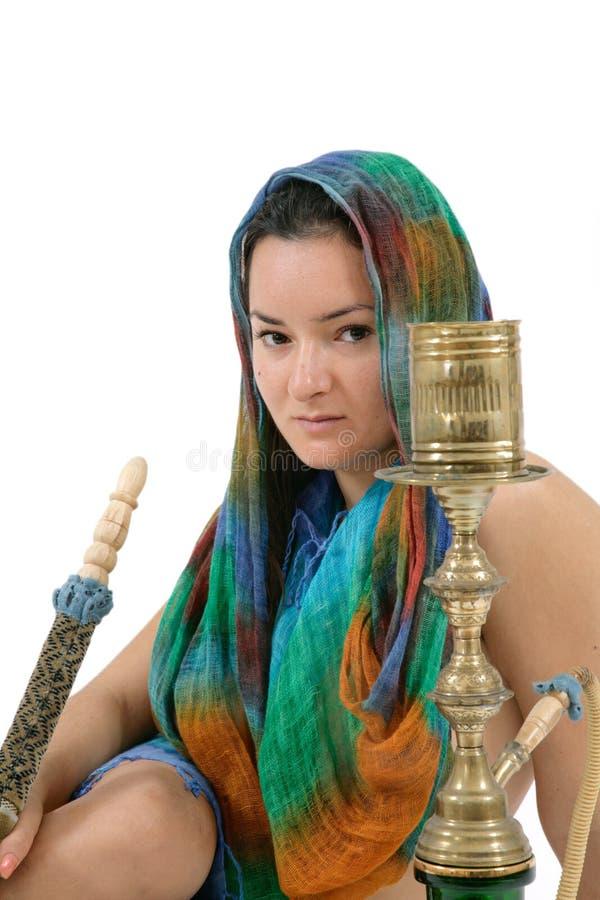 труба представляя женщину воды стоковая фотография