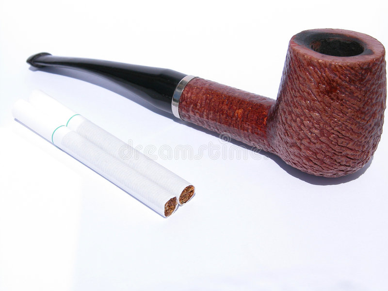 труба сигарет стоковое фото rf