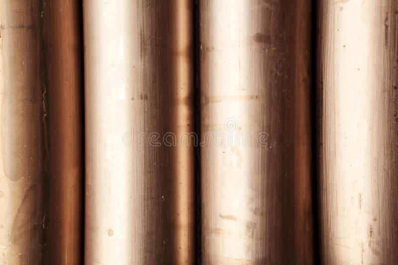 Труба сплава медного никеля стоковые изображения rf