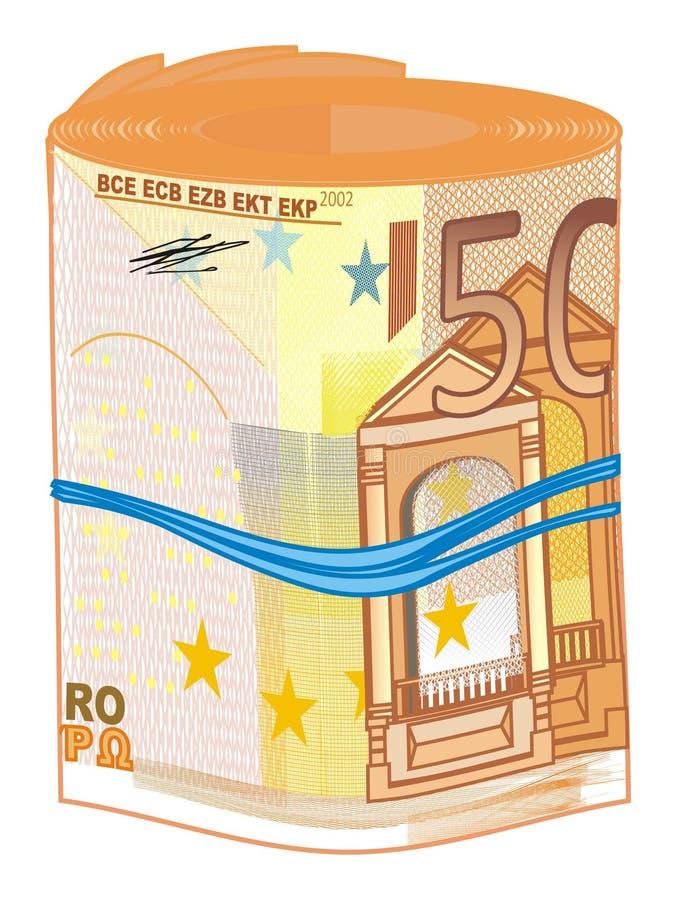 Трубка евро иллюстрация штока