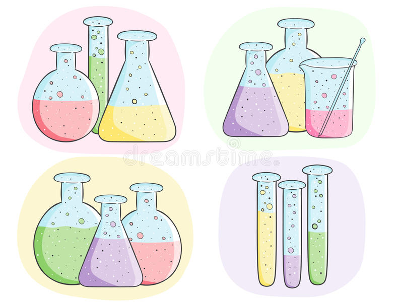 Трубки лабораторного исследования бесплатная иллюстрация