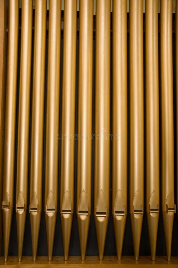 трубы органа церков стоковые изображения rf