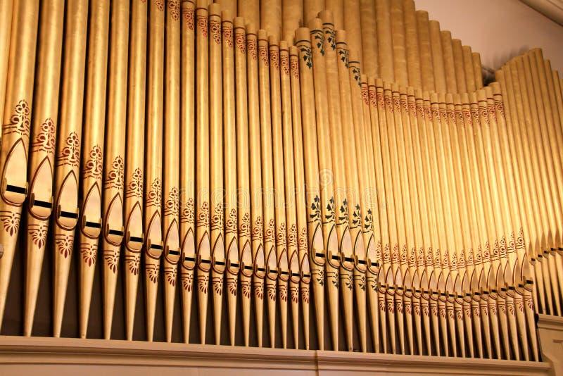 Трубы органа стоковая фотография rf