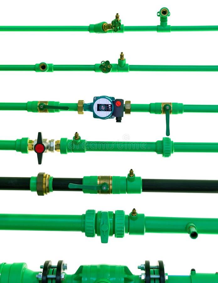Трубы полимера стоковое изображение rf