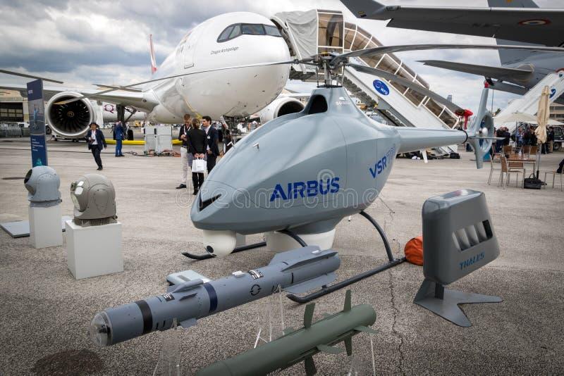 Трутень вертолета аэробуса VSR700 автономный стоковые изображения rf