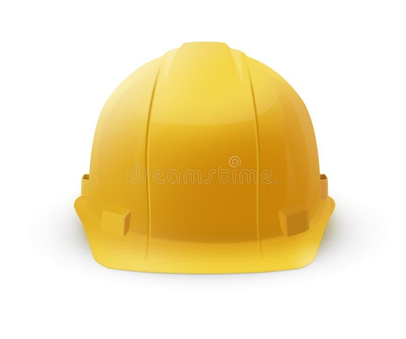 Трудная шляпа - шлем конструкции стоковые изображения