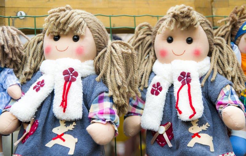 Тряпичные куклы стоковая фотография