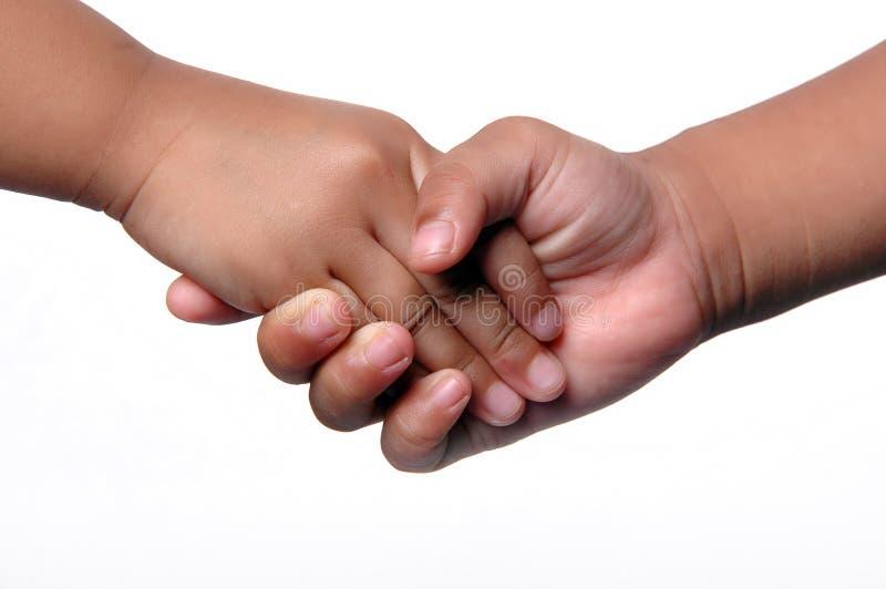 трястить малышей рук стоковая фотография rf