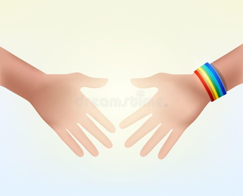 Трясти руки как знак уважения бесплатная иллюстрация