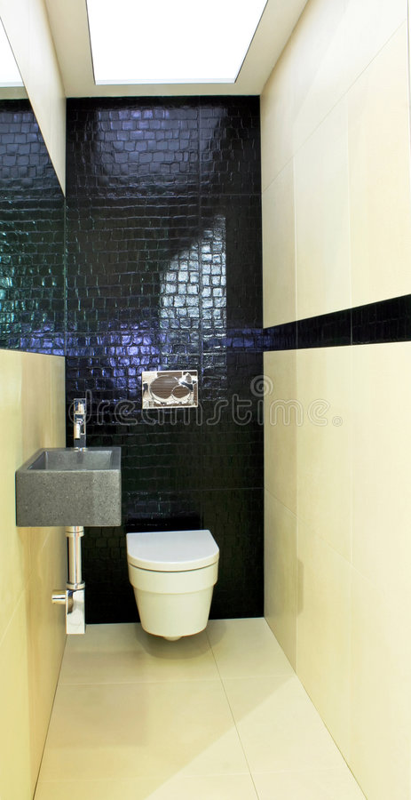 туалет джентльмена стоковое фото
