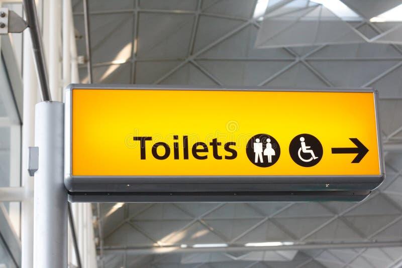 туалет знака стоковые изображения