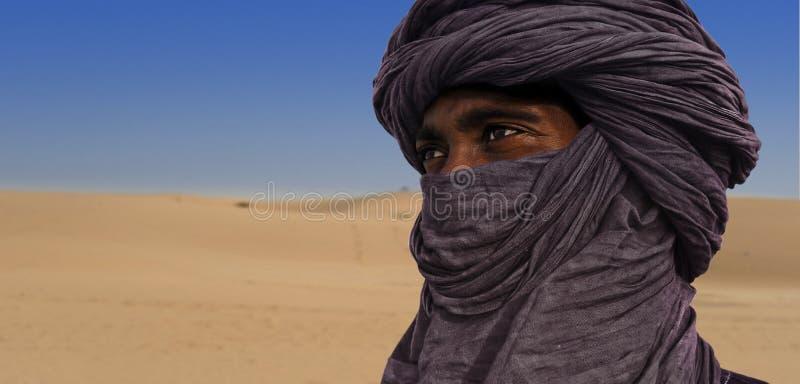 Туареги в Тимбукту стоковое фото