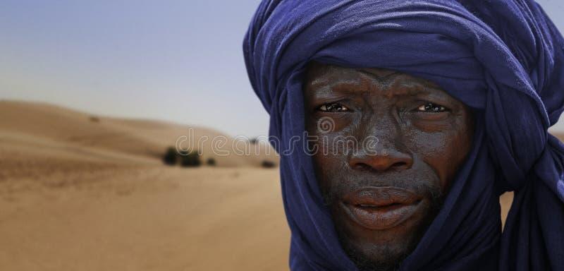 Туареги в Тимбукту стоковые фотографии rf