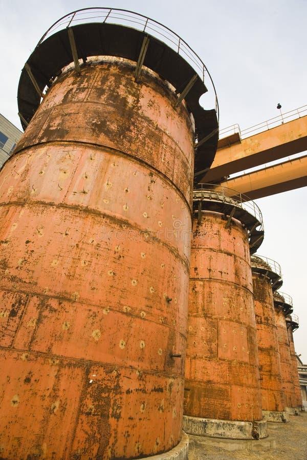 тубопровод машинного оборудования стоковое изображение rf