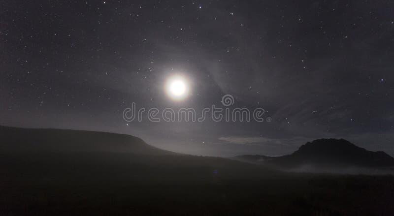 туманная ноча стоковые изображения rf
