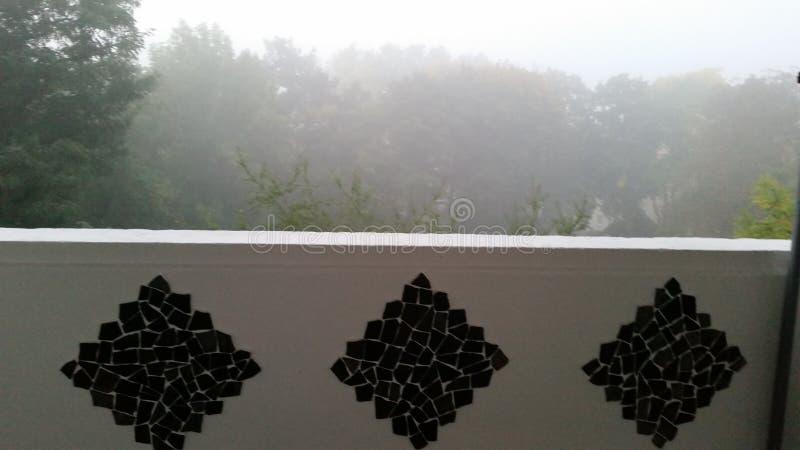 Туманное туманное туманное стоковая фотография rf