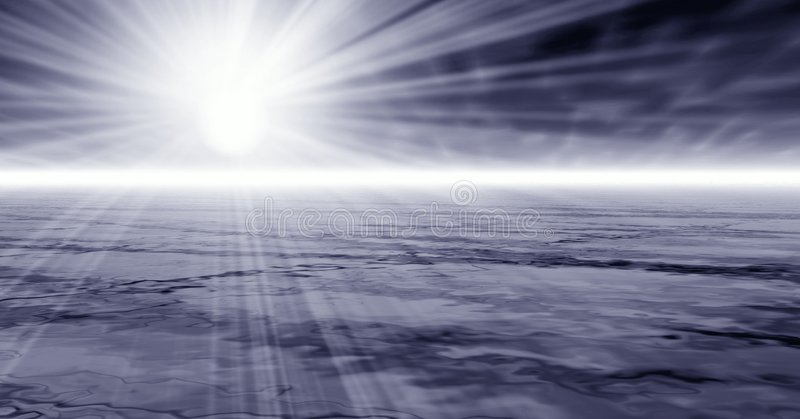 туманные лучи бесплатная иллюстрация