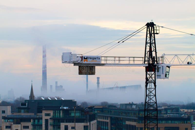 Туман Дублина стоковое изображение