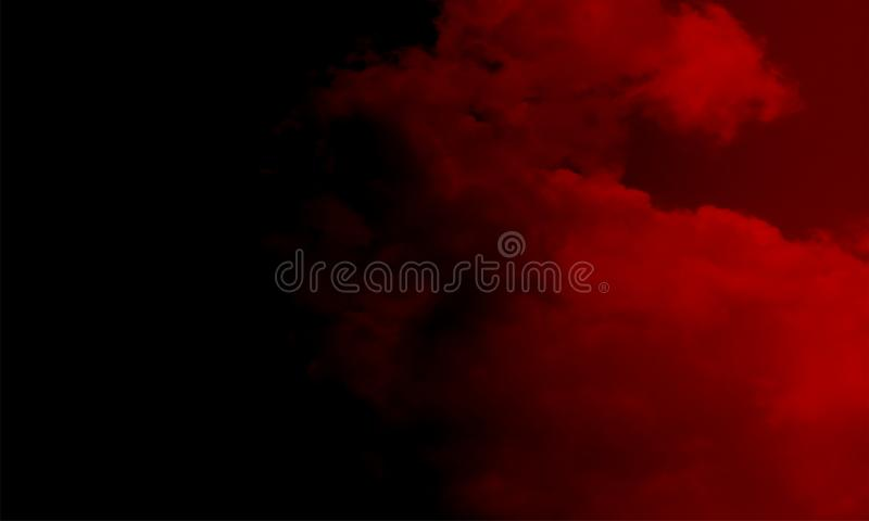 Туман изолированный на черноте Туманная предпосылка colourfull Влияние тумана и тумана на черной предпосылке Текстура дыма стоковое изображение