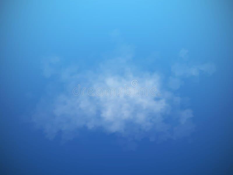 Туман или изолированный дымом прозрачный специальный эффект также вектор иллюстрации притяжки corel иллюстрация штока