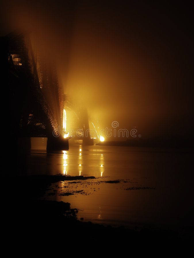 туман моста стоковые фото