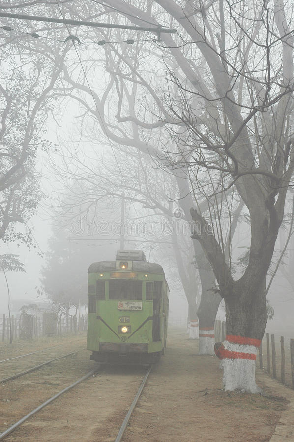туман утехи города стоковое фото rf