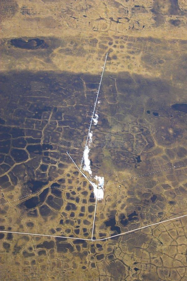 тундра арктики воздуха стоковая фотография rf