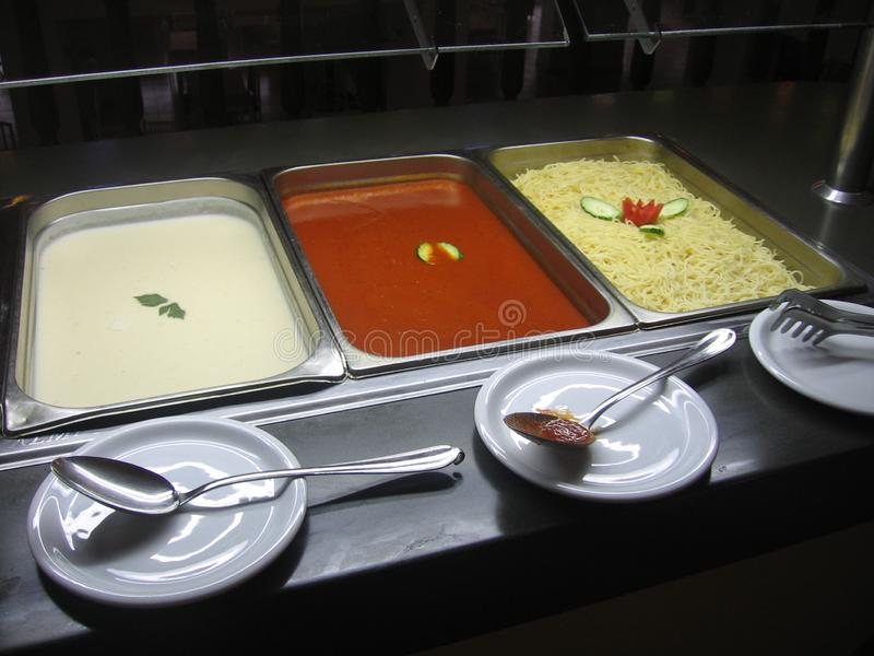 Тунис - среднеземноморская еда стоковые изображения rf