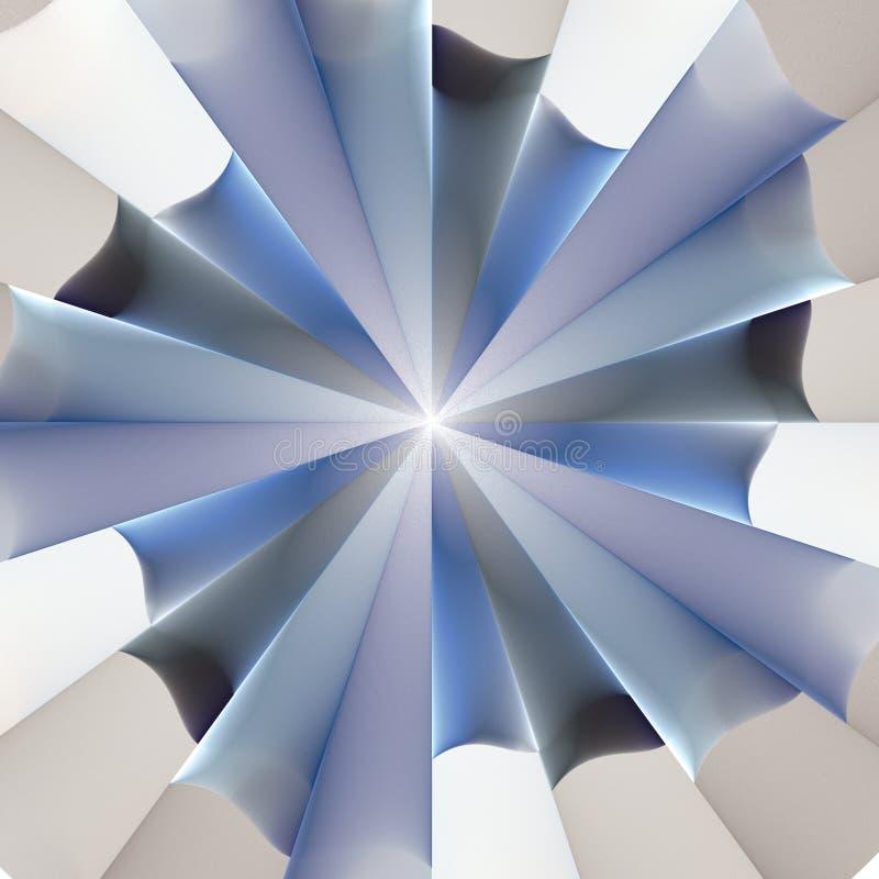 турбина иллюстрация вектора