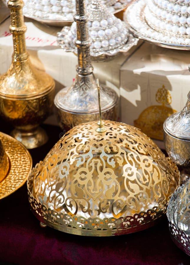 Турецкая античная плита утварей кухни стоковая фотография