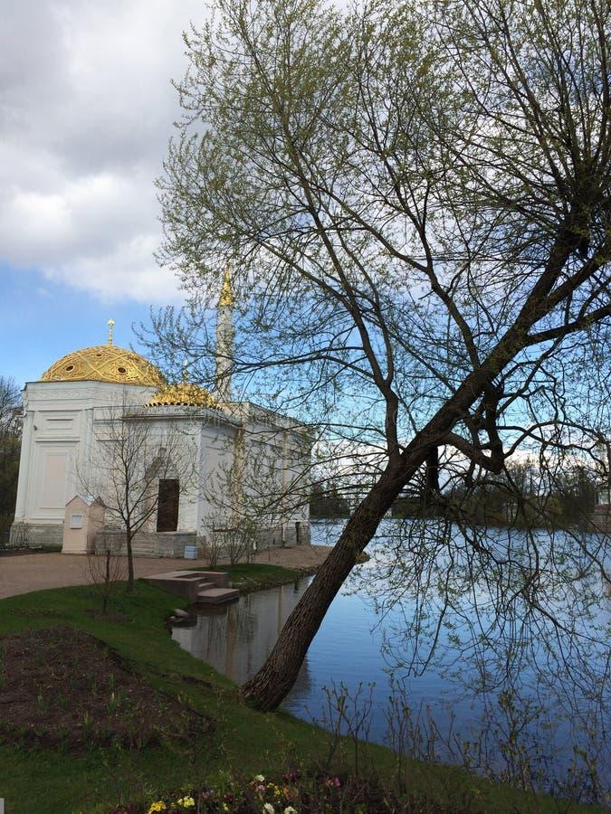 Турецкая ванна в парке Pushkin стоковые изображения rf