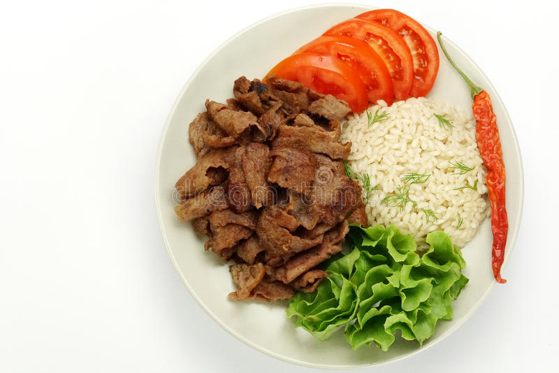 Турецкая еда стоковое фото