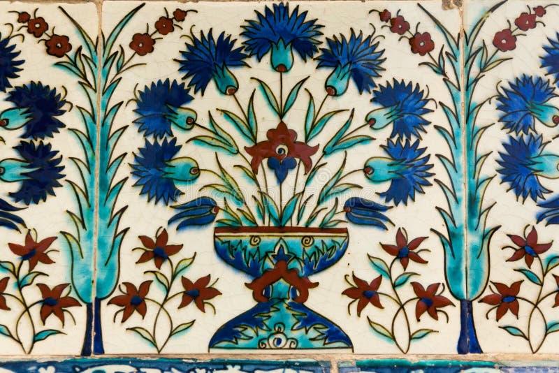 Турецкая керамическая плитка стоковые фото