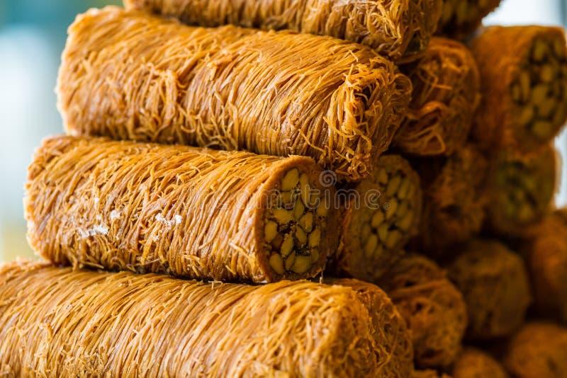 Турецкая сладостная бахлава стоковое фото rf