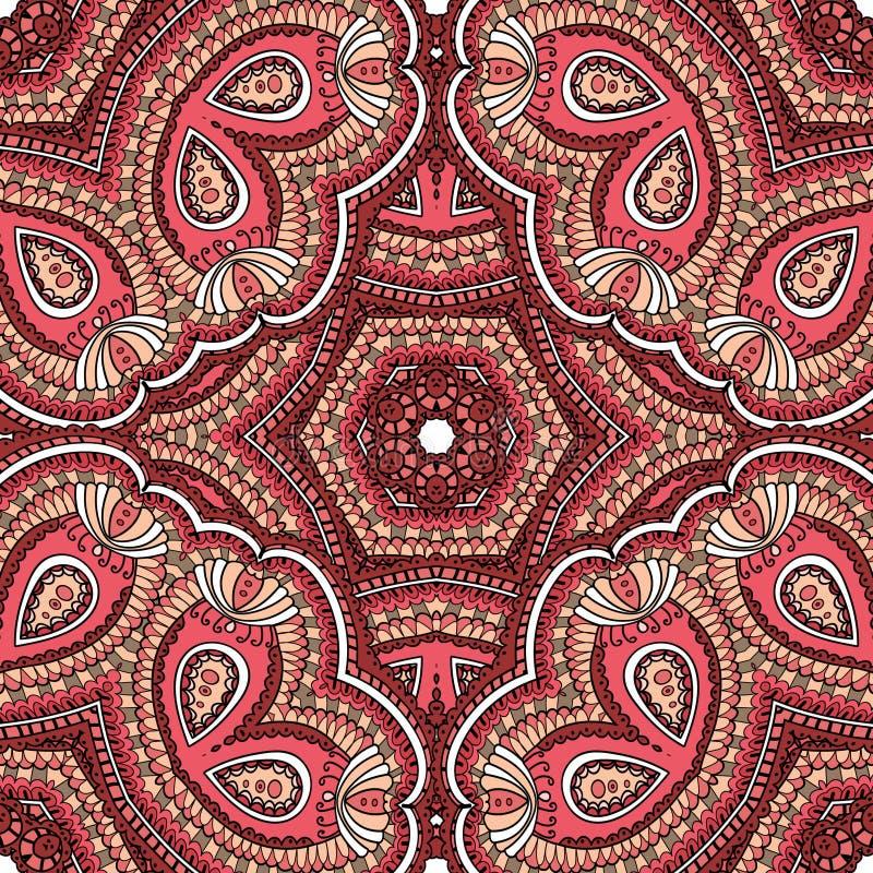 Турецкий орнамент, безшовная картина бесплатная иллюстрация