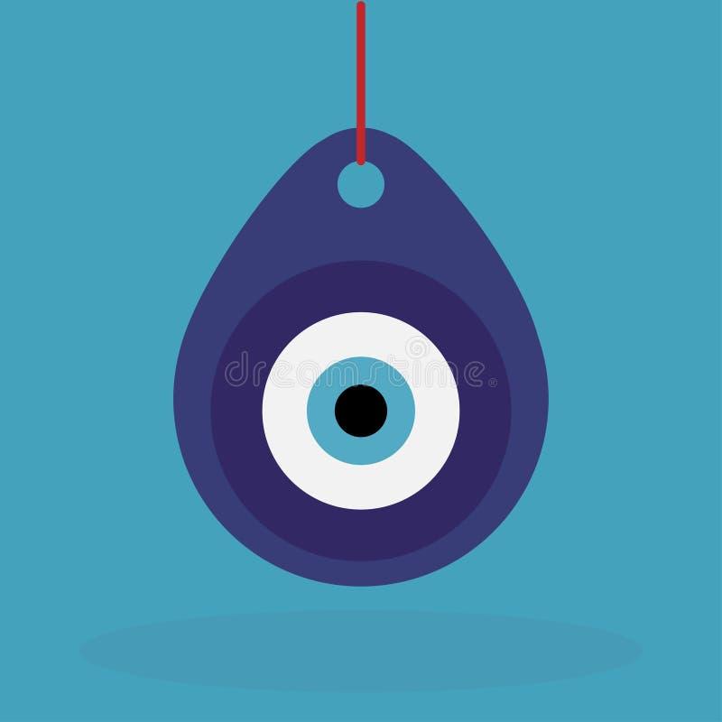 Турецкий шкентель талисмана дурного глаза бесплатная иллюстрация