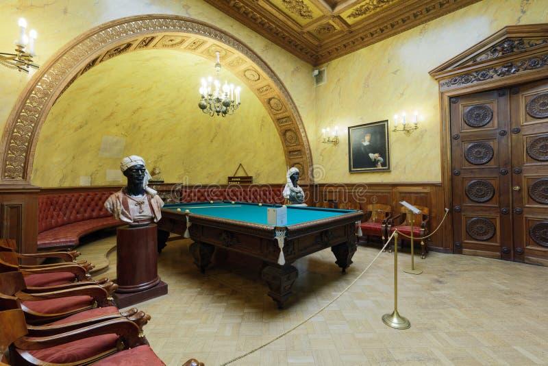 Турецкое исследование дворца Yusupov в Санкт-Петербурге, России стоковое изображение rf