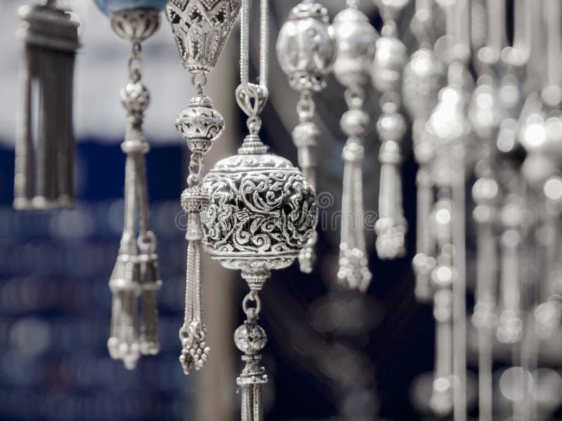 Турецкое серебряное handmade стоковые фото